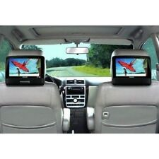 "Portable DVD Player Playback Audio Video Dual Screens 9"" TFT For Car Travel"