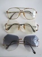 3 VINTAGE SUNGLASSES AND EYEGLASSES - 1970'S - TUB BN-16