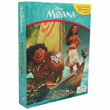 NEW Disney Moana My Busy Books Figurines + Playmat + Storybook *EXP SHIPPING*