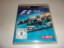 PlayStation 3  PS 3  F1 2012 - Formula