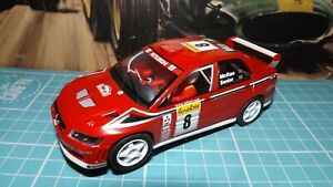 SCALEXTRIC MITSUBISHI RALLY CAR Complete & With Lights !