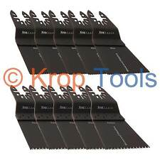 10 Multi Tool Blades Black & Decker DeWalt Double 65mm Wood by KROP