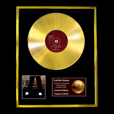 MICHAEL JACKSON OFF THE WALL CD GOLD DISC RECORD FREE P&P!