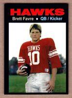 Brett Favre '86 Hancock Hawks Kiln, Mississippi high school MC Glory Days #28