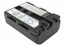 UK Battery for Sony DSLR-A100 DSLR-A100/B NP-FM55H 7.4V RoHS