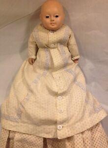 Antique German Motschmann Taufling Doll