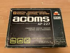 Vintage Acoms Techniplus transmitter AP-227 for Tamiya, Kyosho or others 27mhz