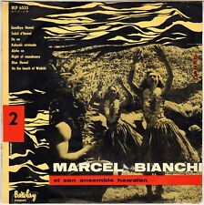 "MARCEL BIANCHI & SON ENSEMBLE HAWAÏEN ""GOODBYE HAWAÏ"" 50'S 25 cm BARCLAY 6533"