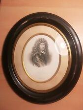 Antica miniatura quadro epoca Napoleone III ritratto re Sole luigi XIV