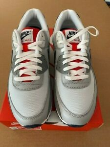 Nike Air Max 90 CZ1846-001 Pure Platinum/Navy Size 10.5 New with Box