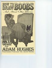 How to Draw Boobs    Adam Hughes Sketchbook  SIGNED