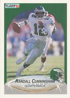 Randall Cunningham 1990 Fleer #82 Philadelphia Eagles Card