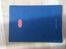 Documentatie brochure bugatti eb 18/3
