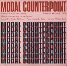MODAL COUNTERPOINT: IN THE STYLE OF THE 16TH CENTURY NEW CD