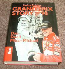 Grand Prix Story 1998 von Heinz Prüller, Hakkinen, Schumacher, Frentzen, Hill
