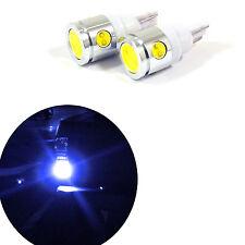 2x Super Bright Blue 912 921 T15 Projector LED Bulbs Backup Reverse Lights