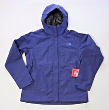 The North Face Venture Waterproof DryVent Midline Blue Women S SMALL Rain Jacket