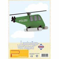 PEBARO Laubsägevorlage Hubschrauber