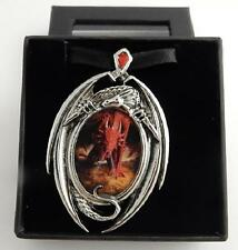 Anne Stokes Enchanted Cameos necklace Dragon's Lair artwork Officially licensed