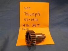 Triumph 57-1914 4th Gear 26T NOS  NP627