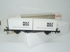 Märklin H0 4850 Containertragwagen Rolf Benz
