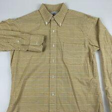 RECENT Brooks Brothers Black Fleece Plaid Dress Shirt BB2 Thom Browne USA