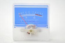 Panel VU Meter 250uA 650Ω 40x40mm no lamp Blue panel -20~+3dB SD SD-306