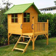 Kinderspielhaus Stelzenhaus Gartenhaus Spielhaus für Kinder aus Holz, Kinderhaus