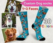 Custom Face Socks Personalised Pet Photo Dog Cat Owner Sock Cool Christmas Gifts