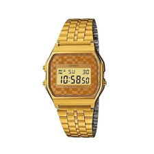 Casio Vintage A159WGEA-9ADFGold Plated Watch for Men and Women