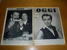 OGGI 1952/48=FOSCO MARAINI=BELLINZAGO TOTOCALCIO=VIOLETTA ELVIN=CHARLIE CHAPLIN