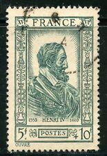 STAMP / TIMBRE FRANCE OBLITERE N° 592 / CELEBRITE / HENRI IV