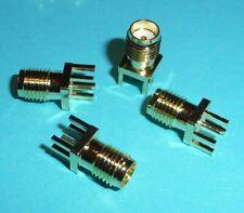 4 Stück SMA Buchse für PCB PTFE Printmontage Lötbar Video Transmitter FPV etc.
