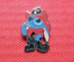 Disney Trading Pin Stitch Fireman Firefighter Hidden Mickey Pin 5 of 5