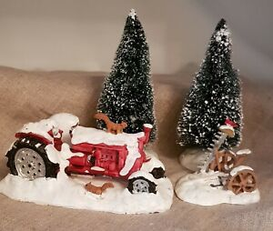 LEMAX, Village Collection, Holidays & Seasons. Snowed In. SKU# 53516. RETIRED