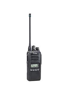 ICOM IC-41PRO UHF CB TWO WAY RADIO IC41 PRO PORTABLE HANDHELD 80 CHANNELS Black