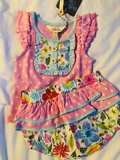 New w/Tags Matilda Jane Girls 6m 12m Baby In Bloom Lot Set 6-12 Months Outfit