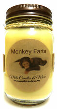 MONKEY FARTS 16oz Country Jar Soy Candle Wholesale Scented Candles Novelty