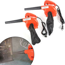 700W WashableElectric Handheld Blower+Blow Pipe+Dust Bag Home Cleaning Tool 110V