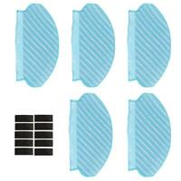 For Ecovacs Deebot OZMO 920 950 Cleaning Mop Cloth Sticker Set Vacuum Parts UK .