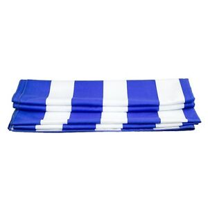 Flamboyant Large Microfiber Striped Lightweight Travel Towel - Free Pouch