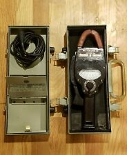 Bruno - New York, Me-79/Usm-33 Multimeter 50-1000Cps + Test Lead & Steel Case