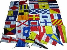 Nautical Sailboat Boating Signal Code FLAG - Set of Total 40 flag - 100% COTTON