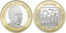 5 EURO FINLANDE 2017 UNC - RISTO HEIKKI RYTI 1889 - 1956
