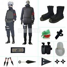 Naruto the Movie Hatake Kakashi Cosplay costume Halloween japanese anime Black