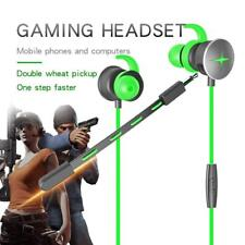 Gaming Earphone Stereo E-sports Earbuds Bass In-ear Headphones For PC PS4 iPod
