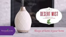 YOUNG LIVING DESERT MIST DIFFUSER + FREE 2 ESSENTIAL OILS (5ml)