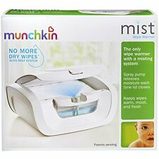 New Sealed in Box Munchkin Mist Baby Wipe Warmer Holds 100 Wipes - Free Shipping
