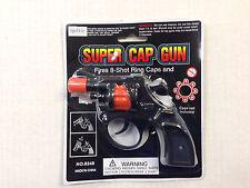 8 Shot Cap Gun Ring Cap Super Cap Toy Plastic