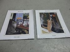 Railway Cats Richard Piccaver 2-Pictures Station Buffet 2001, Footplate 1999